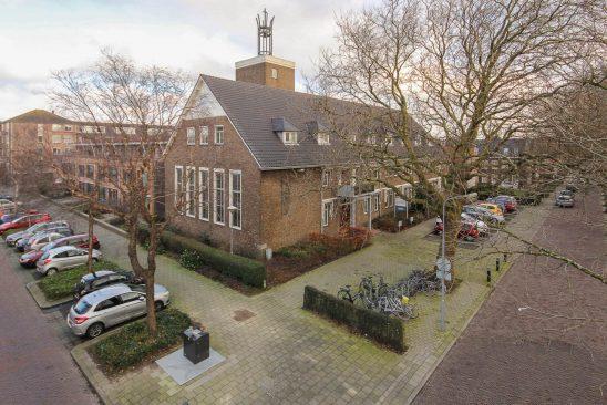 St. Joseph - voor renovatie - vogelvlucht - Heemskerk